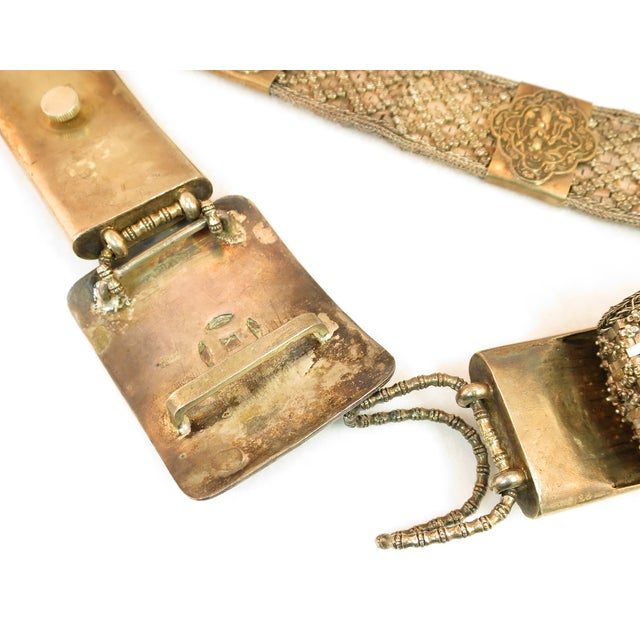 Early 19th Century Asian Silver Belt, China 1830s For Sale - Image 10 of 13