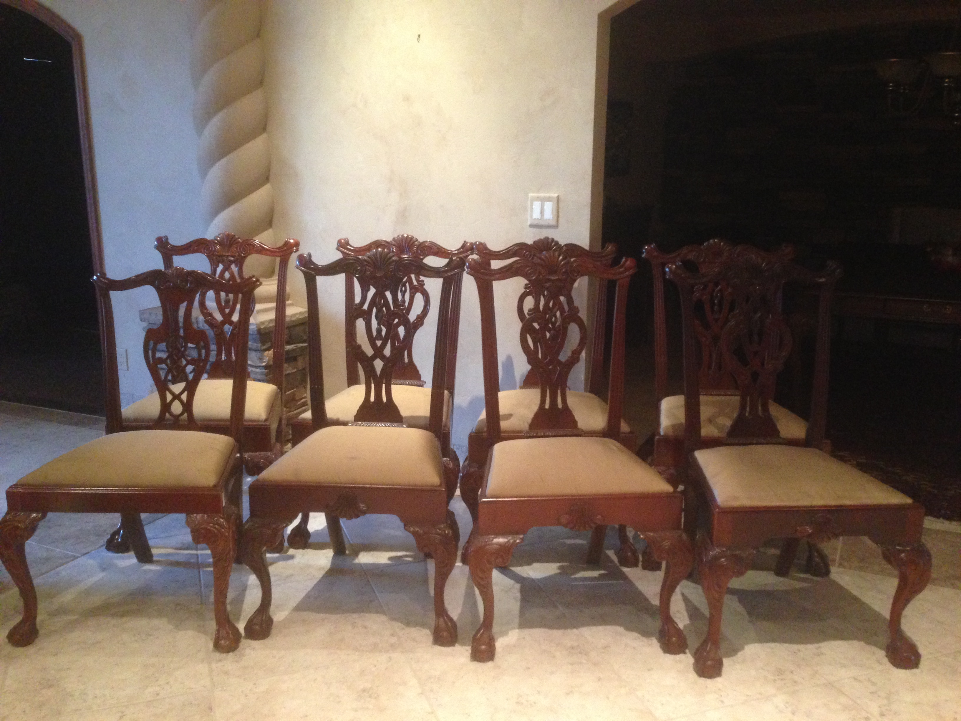 Genial Hickory Chair Mt. Vernon Dining Chairs   Set Of 8   Image 2 Of 8