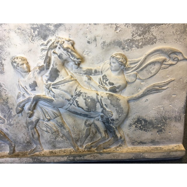 19th Century Antique Greek Roman Frieze Stele For Sale In West Palm - Image 6 of 10