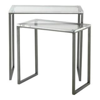 Erdos + Ko Home Paramus End Tables - A Pair