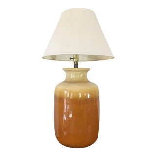 Vintage used phoenix table lamps chairish vintage mid century earth tone pottery lamp keyboard keysfo Image collections