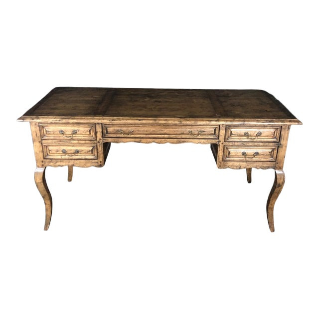 Country French Provincial Desk by Guy Chaddock For Sale