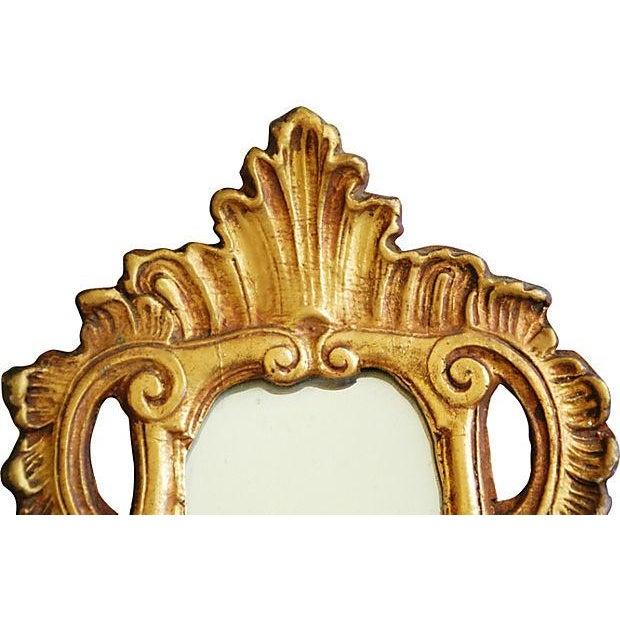 1950s Italian Gilt & Mirrored Shelf - Image 4 of 7