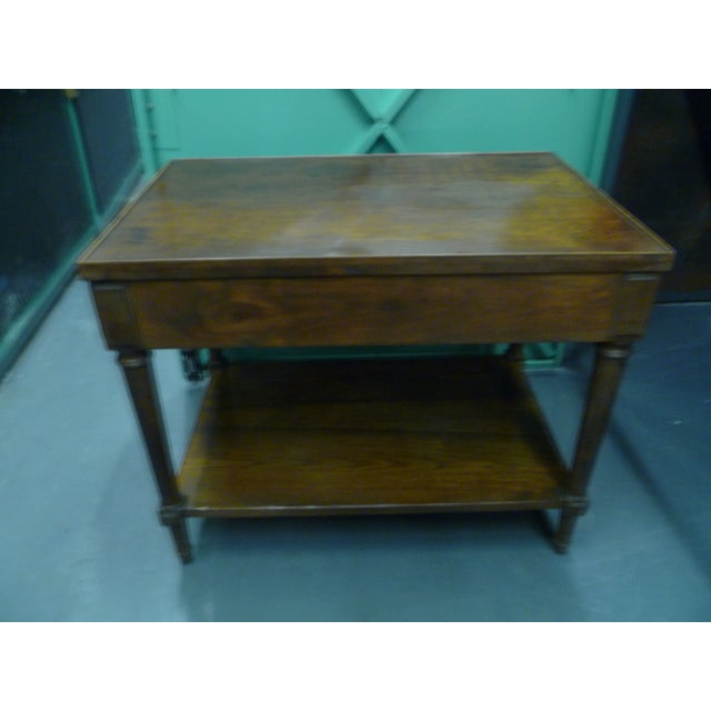 Antique French Mahogany Side Tables - Pair - Image 6 of 11