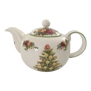 Royal Albert Old Country Holiday Tea Pot For Sale