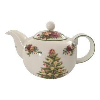 Royal Albert Old Country Holiday Tea Pot