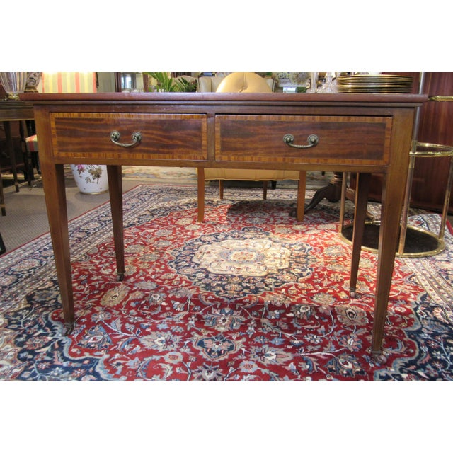 19th Century English Writing Desk For Sale In Philadelphia - Image 6 of 6