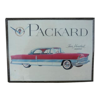 1956 Packard 400 Hardtop Showroom Celluloid Advertisement For Sale