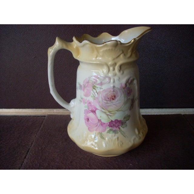 Ceramic Antique English James Kent Pitcher For Sale - Image 7 of 7