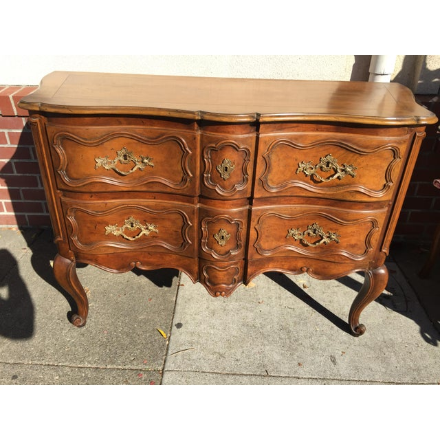 French Louis XV Style Chest Dresser For Sale - Image 9 of 9