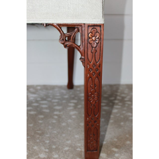 Carved Mahogany Chinese Chippendale Chairs - a Pair For Sale In New York - Image 6 of 10
