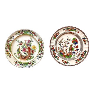 Copeland Spode Plates for Display - a Pair For Sale