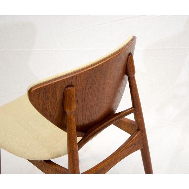 Set of Six Danish Teak Dining Chairs, Arne Hovmand Olsen For Sale - Image 11 of 13