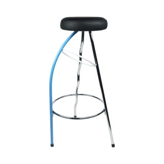 Blue Duplex Bar Stool by Javier Mariscal for Bd Barcelona For Sale
