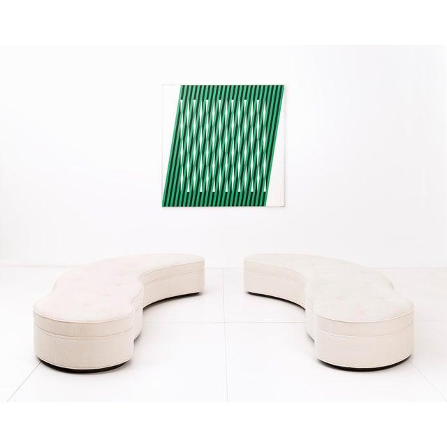 Pair of T.H. Robsjohn-Gibbings Mesa Sofas For Sale - Image 5 of 10
