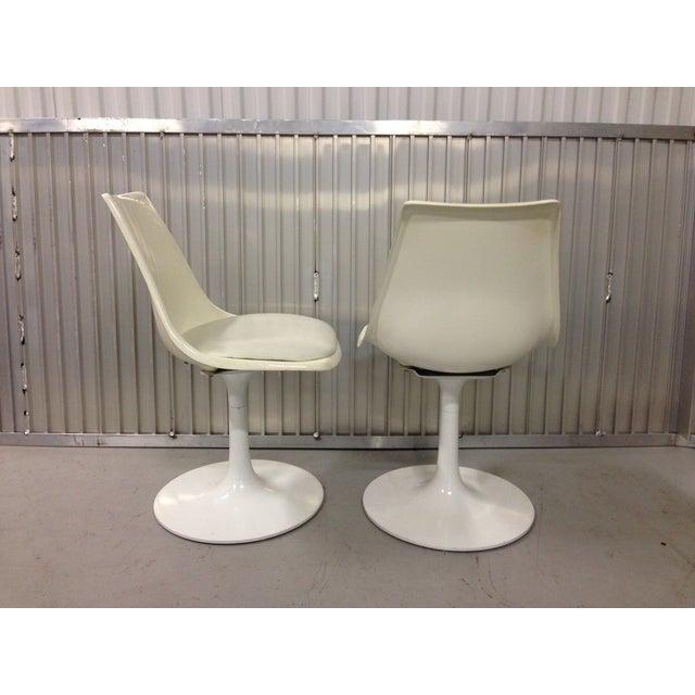Burke Krueger Mid-Century Modern Krueger Tulip Chairs - Pair For Sale - Image 4 of 8