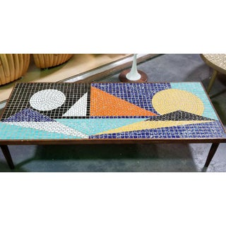 Mosaic Ceramic Tile Coffee Table Preview