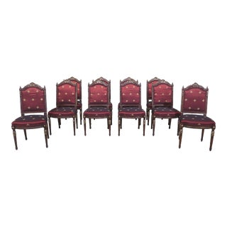 Theodore Alexander French Louis Style Dining Room Chairs - Set of 10 For Sale