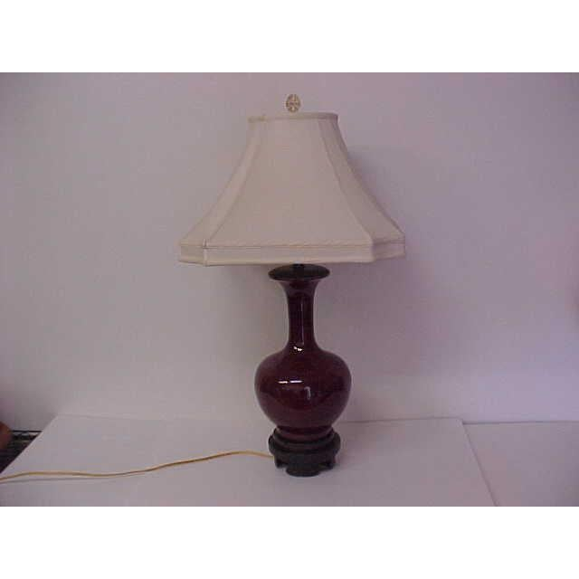 Frederick Cooper Frederick Cooper Oxblood Lamp For Sale - Image 4 of 8
