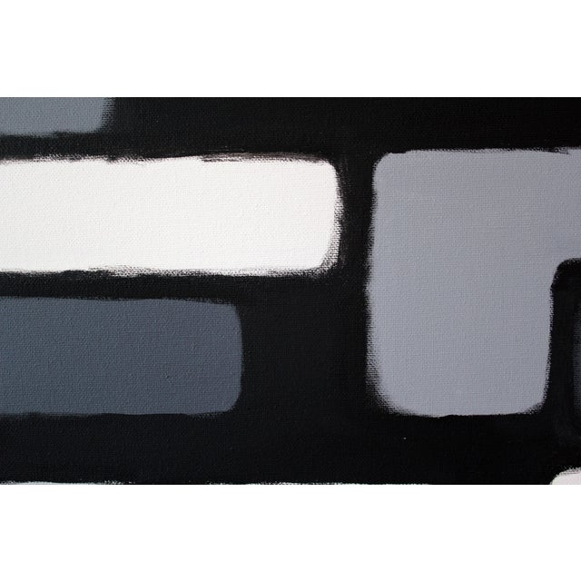"Original ""Cityscene 3"" Painting - Image 2 of 3"