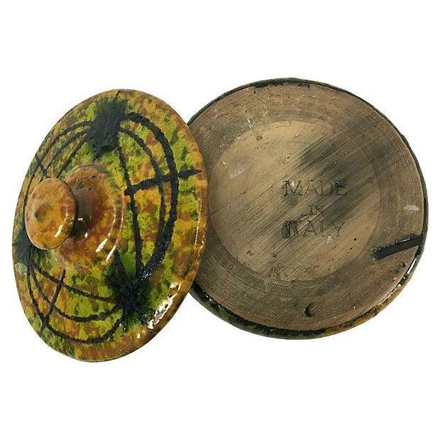 Mid-Century Italian Ceramic Lidded Box - Image 4 of 5