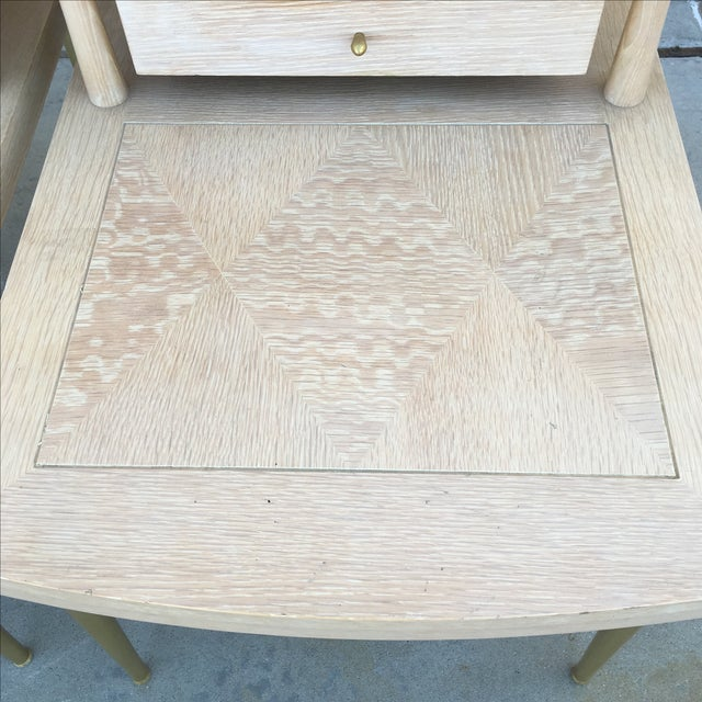 Mid-Century Modern Lane Maple Nightstands - A Pair - Image 4 of 11