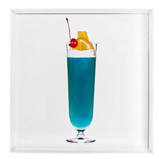 'Big Blue' Limited-Edition Cocktail Portrait Photograph For Sale