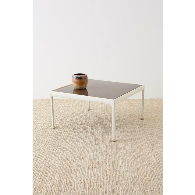 Mid-Century Modern Richard Schultz for Knoll Aluminum Cocktail Table For Sale - Image 3 of 13