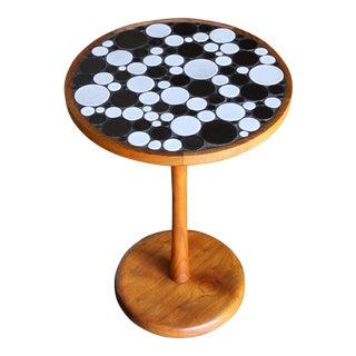 Ceramic Tile Top Occasional Table by Gordon Martz