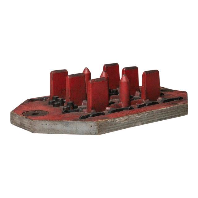 Italian Wood Foundry Mold For Sale