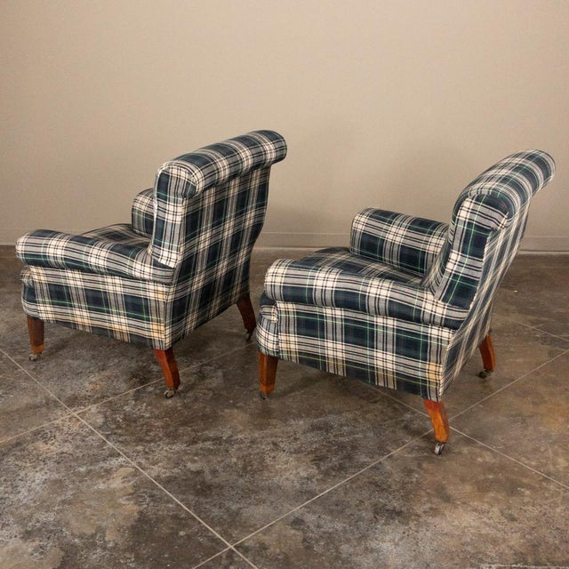 Pair Mid-Century Lounge Armchairs For Sale - Image 10 of 13