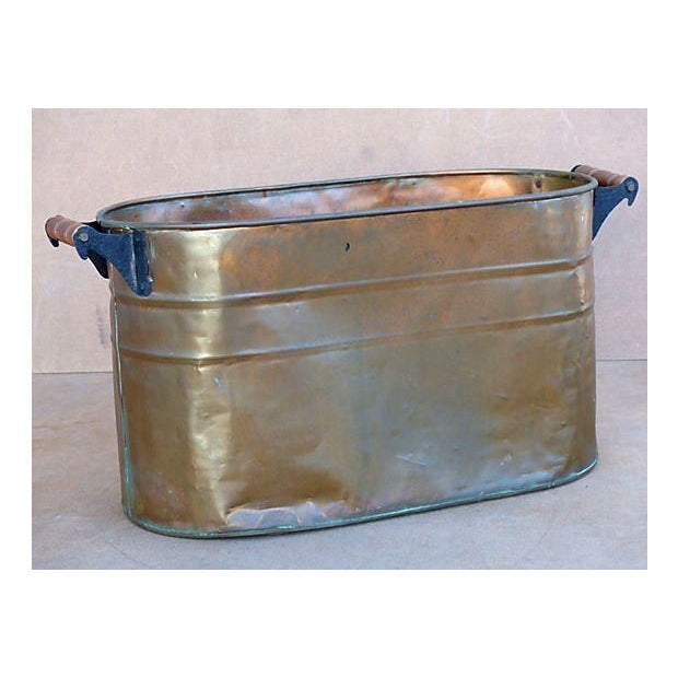 Antique Copper Bucket - Image 3 of 7