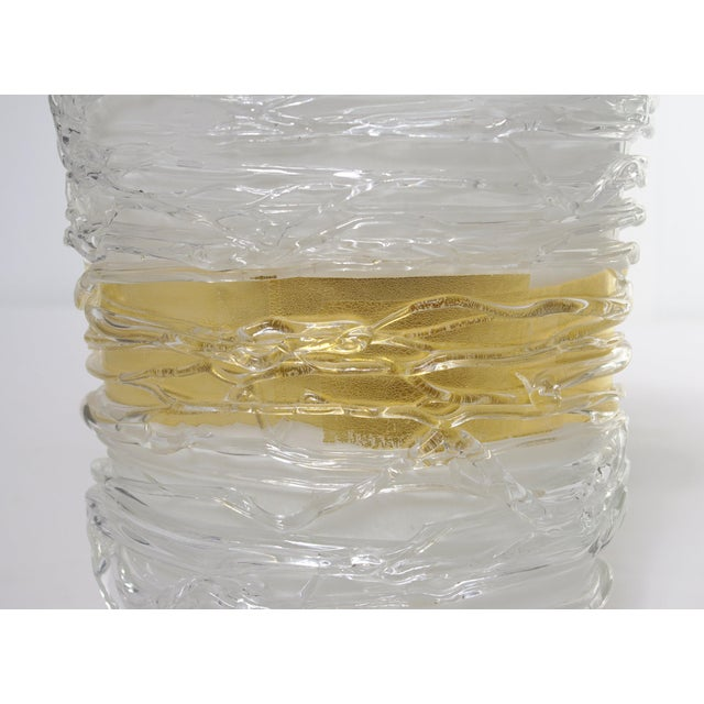 Italian Murano Glass Vase by Camozzo For Sale In Palm Springs - Image 6 of 9