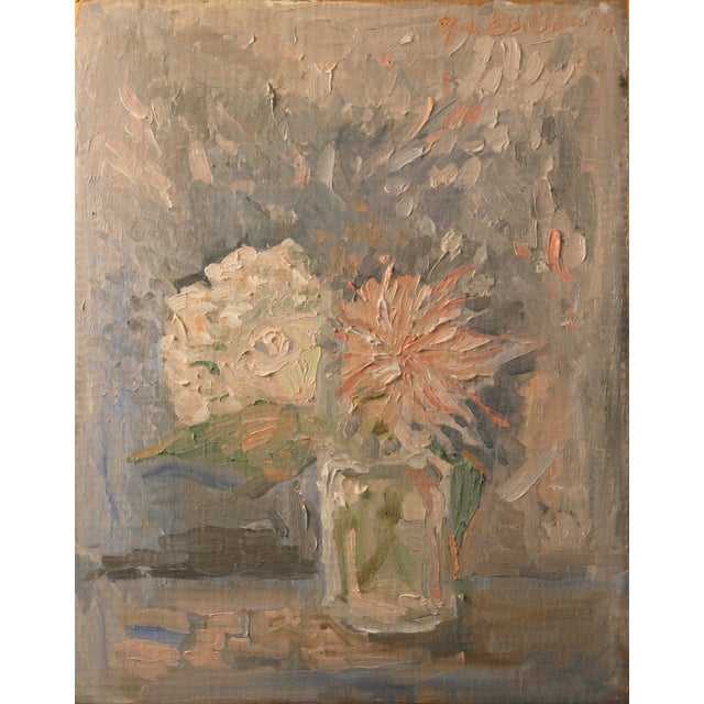 Impressionist Still Life With Flowers - Image 1 of 6