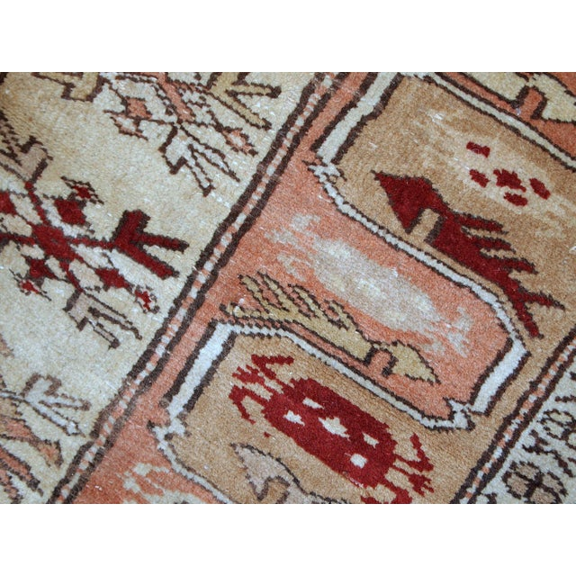 "1940s Vintage Turkish Oushak Handmade Runner - 2'5"" x 8' For Sale - Image 5 of 10"