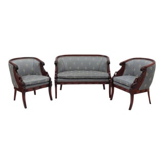 Empire Style Sofa & Chairs - Set of 3