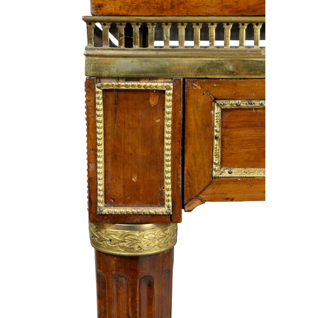 Late 18th Century Louis XVI Walnut Architects Table a La Tronchin For Sale - Image 5 of 13