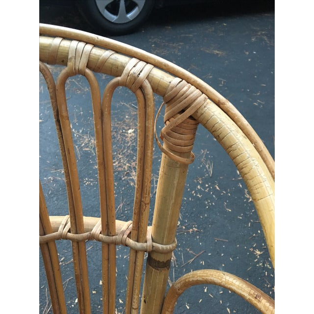 Bamboo Dining Chairs - Set of 4 - Image 8 of 9