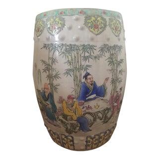 Asian Inspired Garden Stool