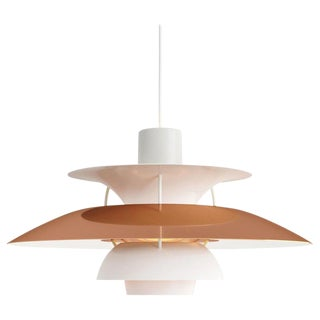 Scandinavian Modern Poul Henningsen Ph 5 Copper Pendant for Louis Poulsen For Sale