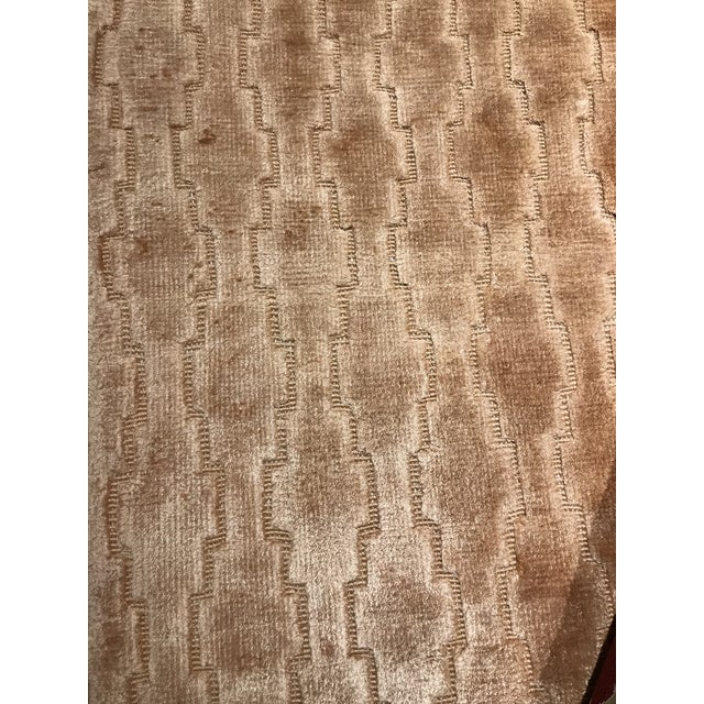 Pasargad NY Modern Hand Knotted Silk Rug - 4′3″ × 5′11″ For Sale - Image 4 of 5