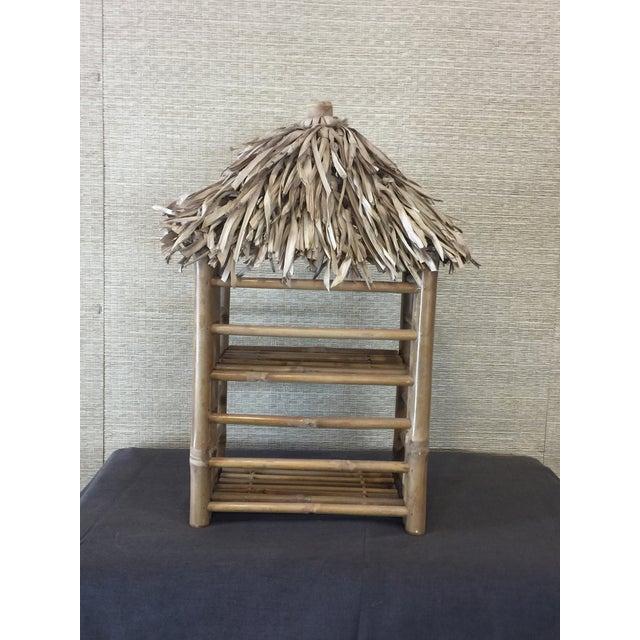Bamboo Tiki Display Shelves - Image 6 of 9