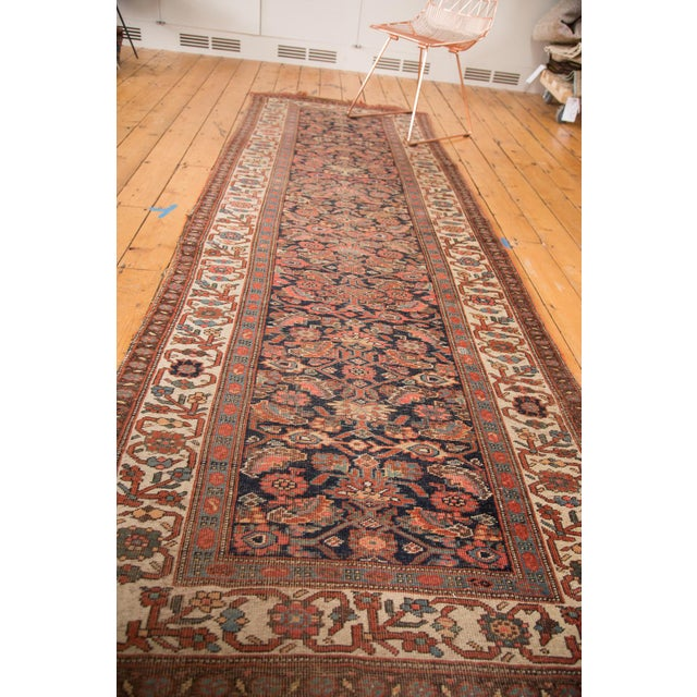 "Antique Bijar Rug Runner - 3'7"" X 10'7"" - Image 2 of 7"
