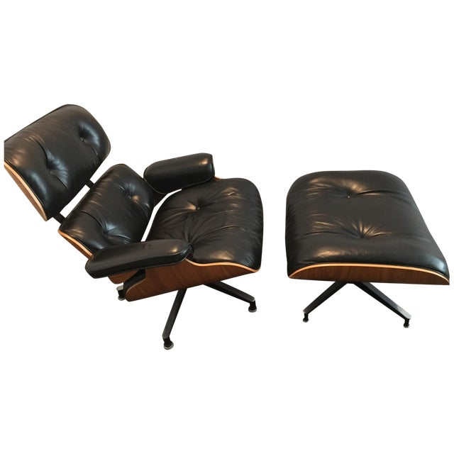 Original Eames Lounge Chair and Ottoman - Image 1 of 5