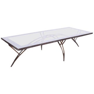 Mexican Modernist Rectangular Coffee Table Attributed to Arturo Pani For Sale