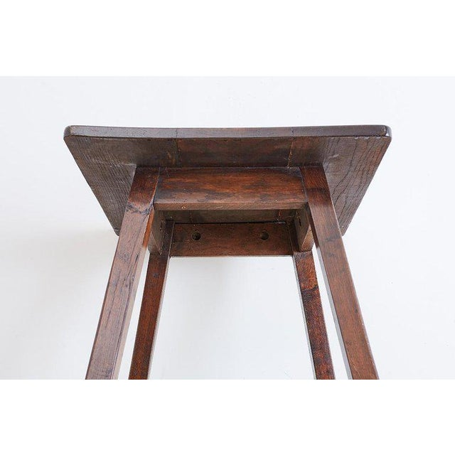 Country English Oak Tavern or Pub Table For Sale - Image 3 of 13