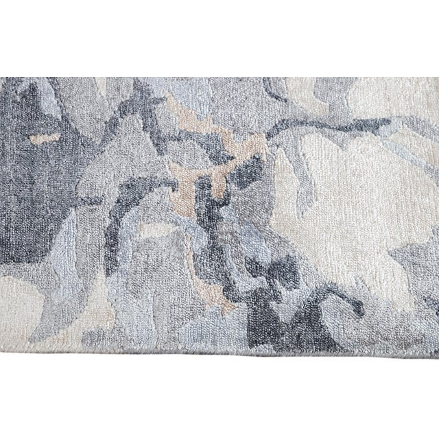 21st Century Modern Abstract Wool Rug For Sale In New York - Image 6 of 12