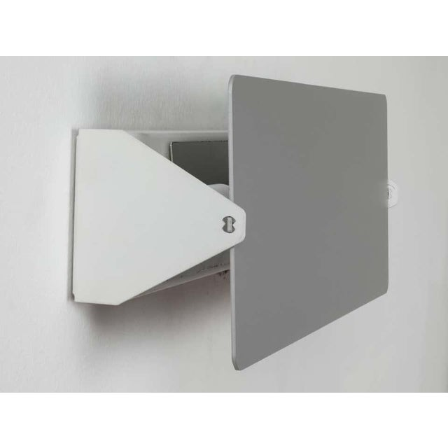 Charlotte Perriand Cp1 Brushed Aluminum Wall Lights - a Pair For Sale In Los Angeles - Image 6 of 11