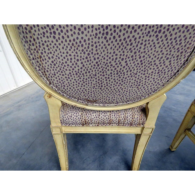 Set of 10 Louis XIV Style Dining Side Chairs For Sale - Image 11 of 13