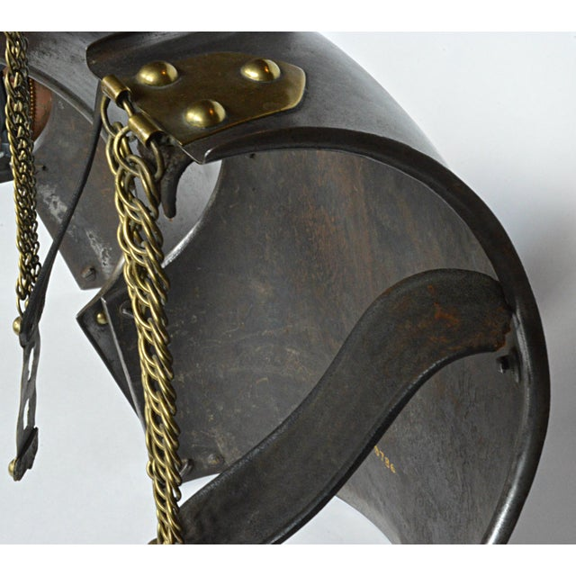 French Cuirassier's Breast and Back Plate For Sale - Image 10 of 11